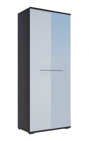 ЛУИЗА шкаф 2-х створчатый МДФ + зеркало