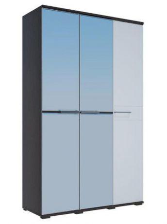 ЛУИЗА шкаф 3-х створчатый МДФ + 2 зеркала