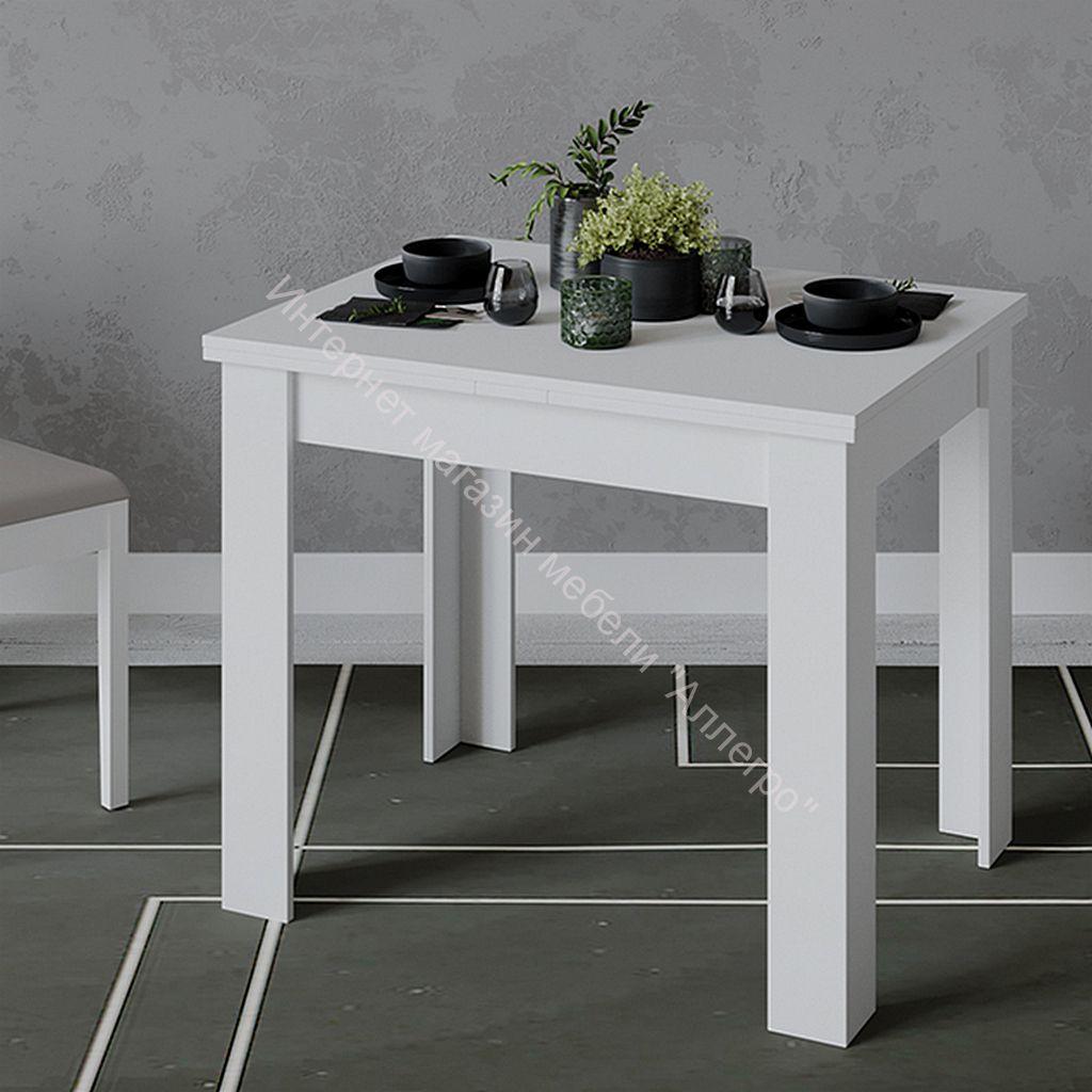 Стол раздвижной «Промо» тип 3 (Белый/Белый)