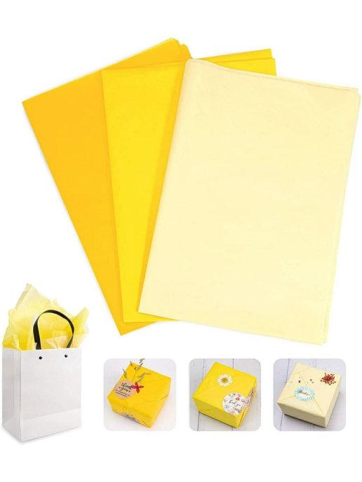 30 листов / Бумага для подарка/тишью цветная для праздника/букетов/тонкая подарочная упаковочная.