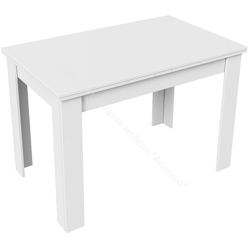 Стол раздвижной «Промо» тип 4 (Белый/Белый)