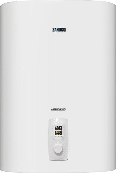 Электрический накопительный водонагреватель Zanussi Artendo ZWH/S 30, 30 л, Wi-Fi, нержавеющая сталь