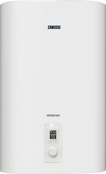 Электрический накопительный водонагреватель Zanussi Artendo ZWH/S 80, 80 л, Wi-Fi, нержавеющая сталь