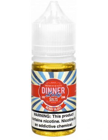 DINNER LADY FRUITS SALT BERRY BLAST [ 30 мл. ]