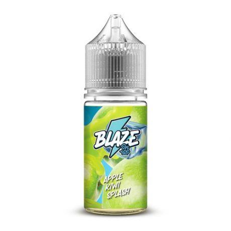 BLAZE SALT ON ICE APPLE KIWI SPLASH [ 30мл. ]