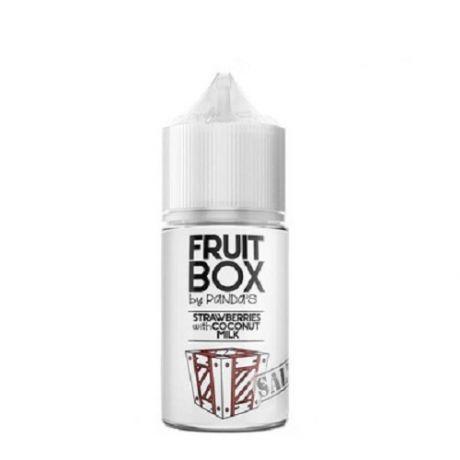 FRUITBOX SALT STRAWBERRIES WITH COCONUT MILK [ 30мл. ]