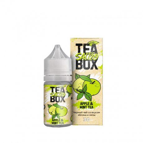 Жидкость TEA BOX SALT APPLE & MINT TEA [30мл]
