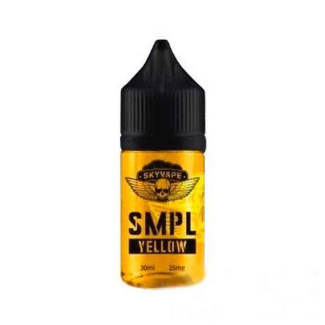 Жидкость SMPL SALT YELLOW [30 мл]