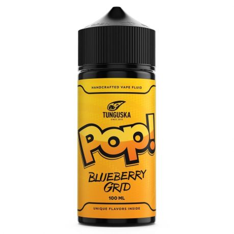 Жидкость TUNGUSKA POP BLUEBERRY GRID [ 100 мл. ]