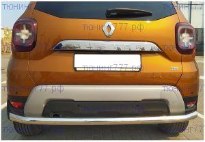 Защита заднего бампера, YKK, сталь ф 60мм