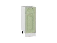 Шкаф нижний с 1-ой дверцей и ящиком Ницца Н301 в цвете дуб оливковый