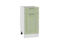 Шкаф нижний с 1-ой дверцей и ящиком Ницца Н401 в цвете дуб оливковый