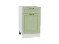 Шкаф нижний с 1-ой дверцей и ящиком Ницца Н501 в цвете дуб оливковый