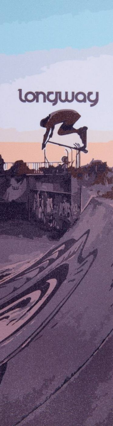 Шкурка для самоката Longway Printed Gabi