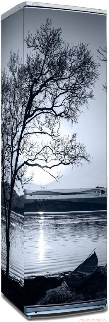 Наклейка на холодильник - Белые ночи