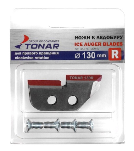 Ножи для ледобура Тонар 130 мм правого вращения NLT-130R SL