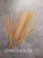 Узкие шпатели для депиляции бровей (100шт)