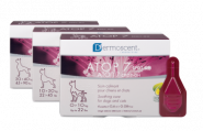 ATOP 7 Spot-on Успокаивающие кожу капли для собак 20-40 кг, пипетка 4*2,40 мл