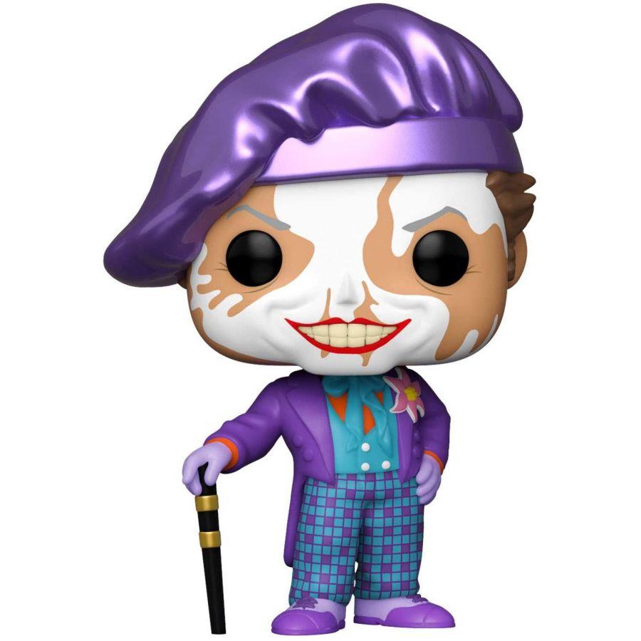 Фигурка Funko POP! Heroes DC Batman 1989 Joker w/Hat w/Chase