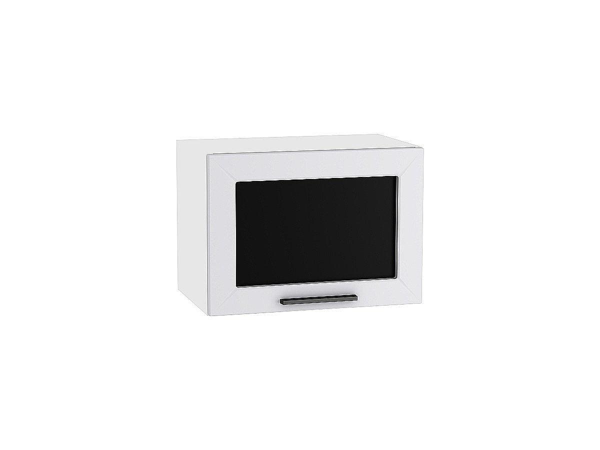 Шкаф верхний горизонтальный Глетчер ВГ510 со стеклом (Гейнсборо Силк)