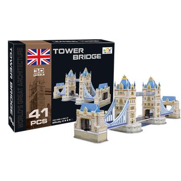 Модель для сборки 3D Тауэрский мост 41 деталь