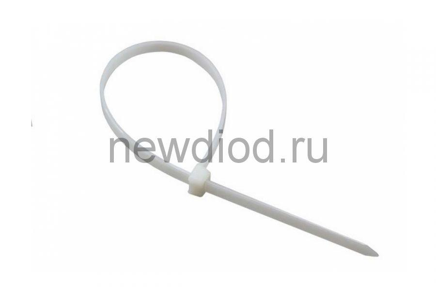 Стяжкa нейлонoвая 150 x 2,5 мм, белая (упак. 100 шт) REXANT