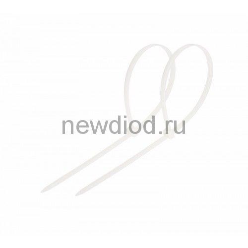Стяжкa нейлонoвая 150 x 3,6 мм, белая (упак. 100 шт) REXANT
