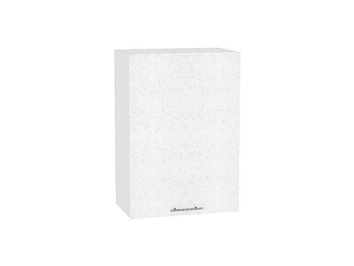 Шкаф верхний Валерия В609-Ф46Н белый металлик