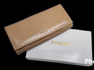 Кошельки женские натуральная кожа Coscet
