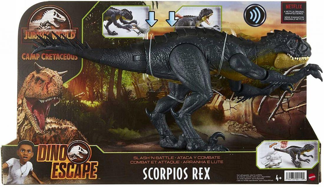 Динозавр Скорпион-Рекс