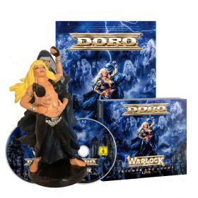 DORO Warlock - Triumph and agony live + FIGURE [BOX]