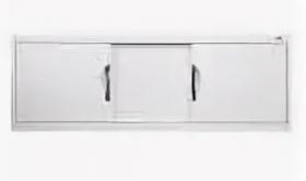 Экран под ванну КАКСА-А КАПРИЗ МДФ алюминиевый профиль - 1,5