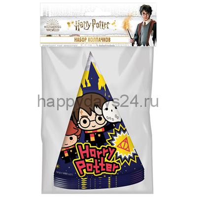 Колпаки Гарри Поттер 6 шт