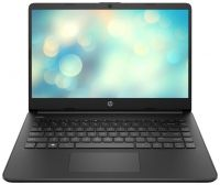 Ноутбук HP 14s-dq3004ur Чёрный (3E7L8EA)