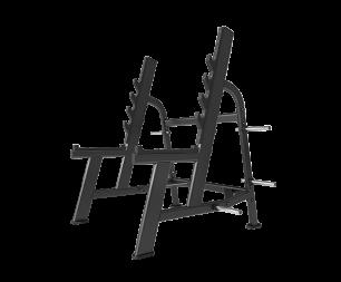 Стойка для приседаний Svensson Industrial E7050 Matte Black
