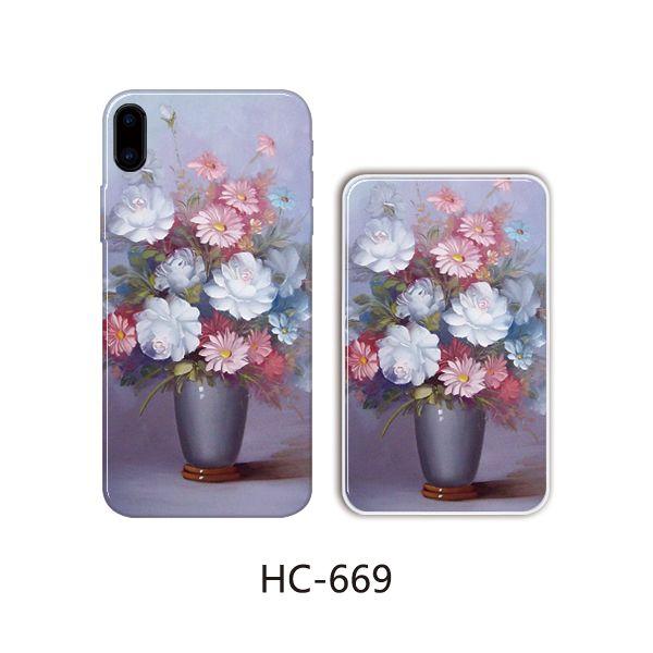Защитный чехол HOCO Colorful and graceful series для iPhone7/8 (цветы в горшке)