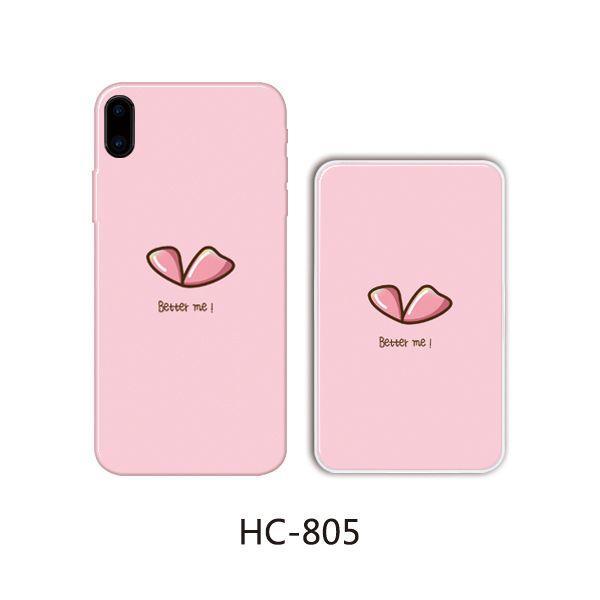 Защитный чехол HOCO Colorful and graceful series для iPhoneXS (бант розовый фон)
