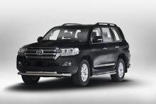 Защита переднего бампера, стиль Toyota, нерж. сталь