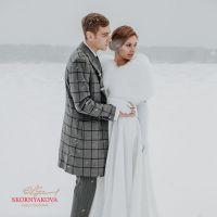 Горжетка для свадьбы из меха купить