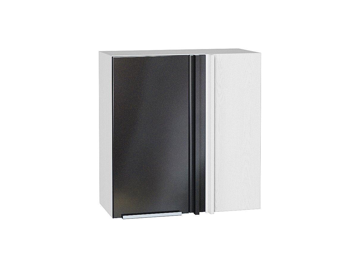 Шкаф верхний прямой угловой Фьюжн ВУ690 Anthracite
