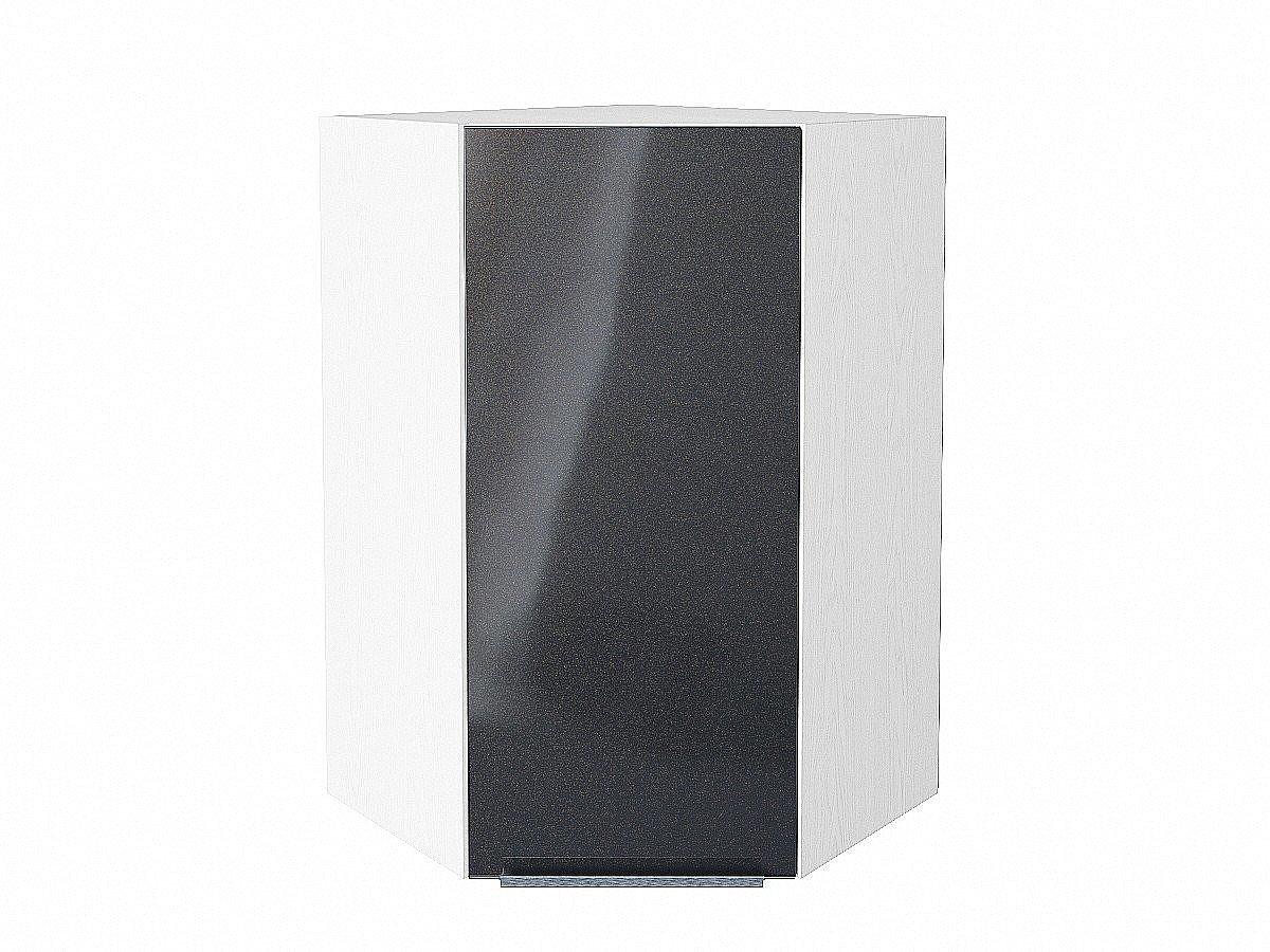 Шкаф верхний угловой Фьюжн ВУ599 Anthracite