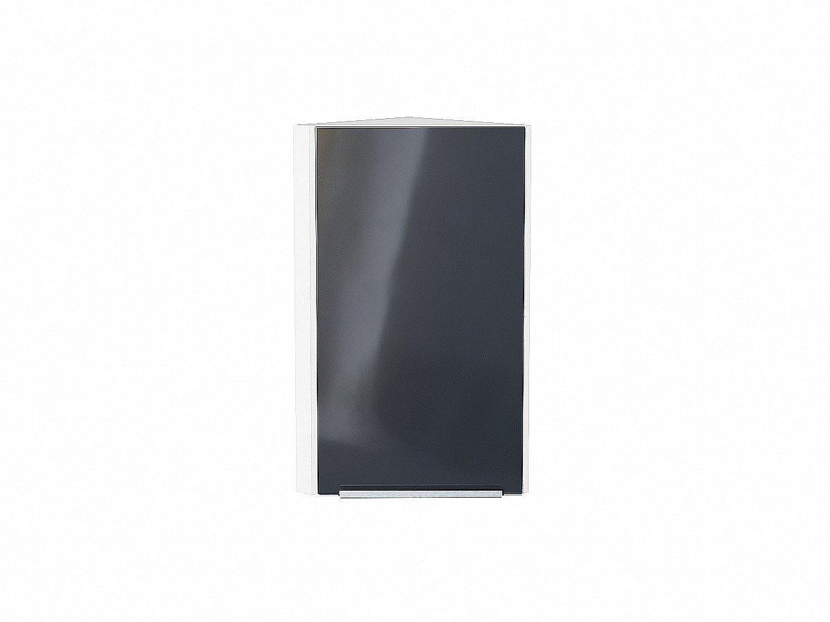 Шкаф верхний торцевой Фьюжн ВТ230 Anthracite