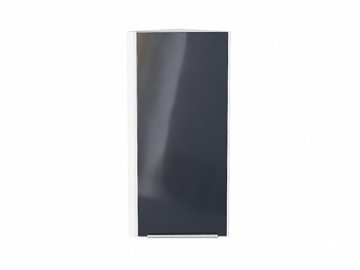 Шкаф верхний торцевой Фьюжн ВТ230Н Anthracite