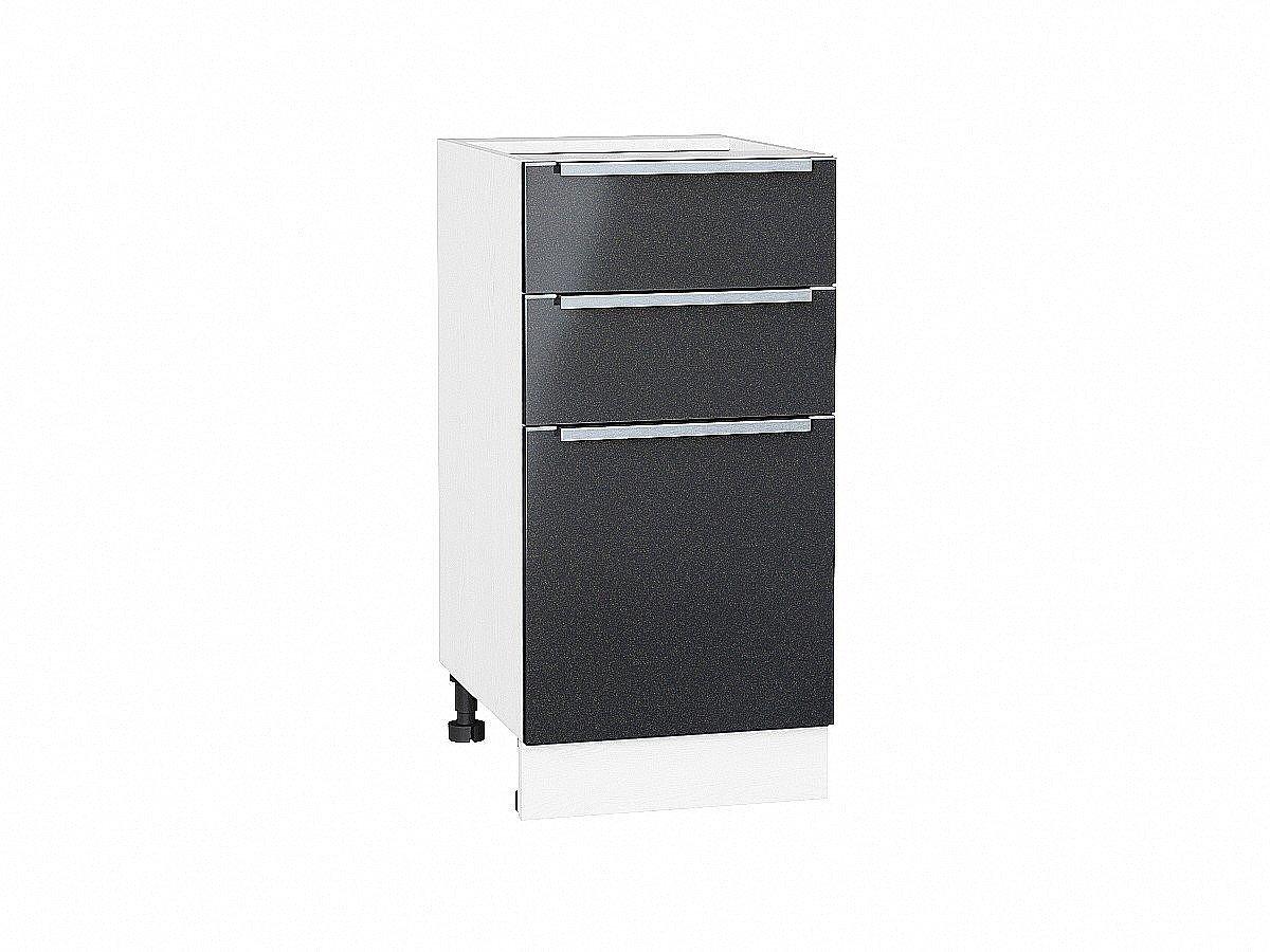 Шкаф нижний Фьюжн Н403 Anthracite