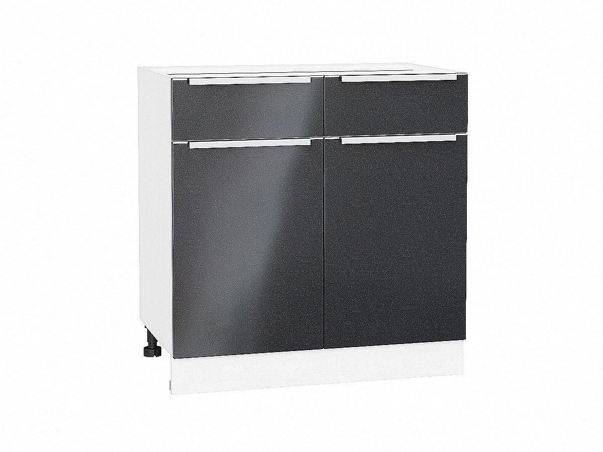 Шкаф нижний Фьюжн Н801 Anthracite