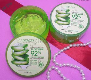 Оригинал Images, Увлажняющий гель для лица и тела с натуральным соком Aloe Vera 92%, Soothing & Moisture, 220 г