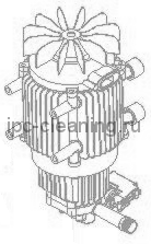 PPEL 40093  Насос GROUP G159 1609AO M 230/50 3kw