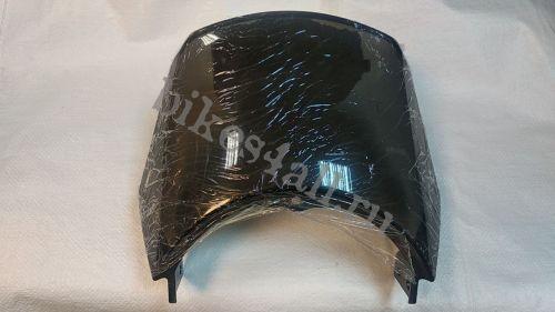 Ветровик на бугель для круглой фары YBR 125 (темный)