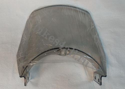 Ветровик на бугель для круглой фары YBR 125 (прозрачный)