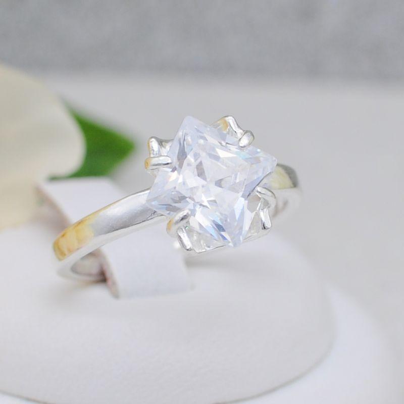 Кольцо бижутерия серебрение Арт. К531